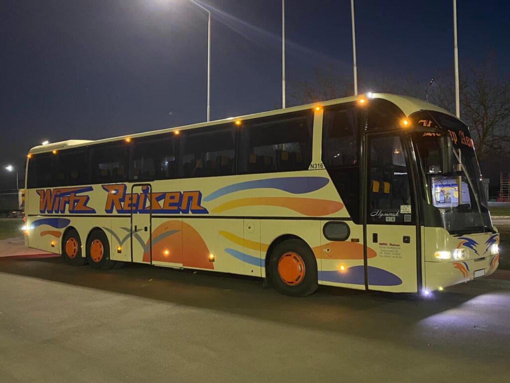 Заказ транспорта 13 - Панч-тур